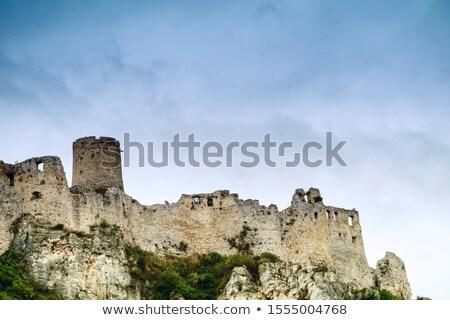 Spiš castle in eastern Slovakia Stock photo © Harlekino