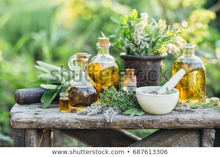 Flower and Herb Spa Stock photo © marilyna