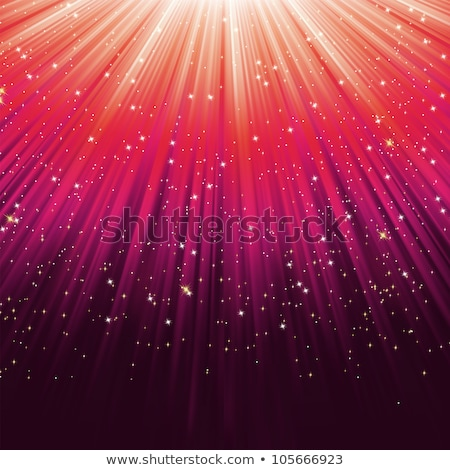 snowflakes and stars on path of pink light eps 8 stock photo © beholdereye