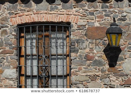 windows with iron grating stock photo © ultrapro