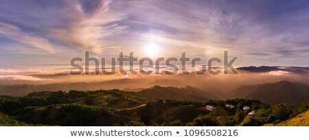 層 · 雲 · 空 · 丘 - ストックフォト © inarts