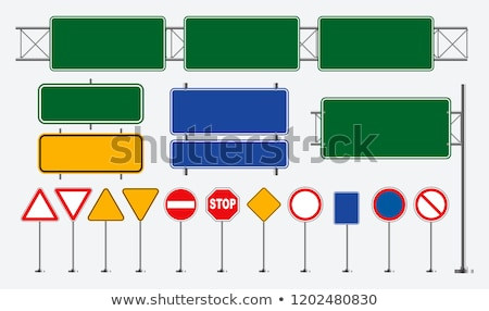 Snelwegen frame vervoer navigatie straat reizen Stockfoto © Lightsource