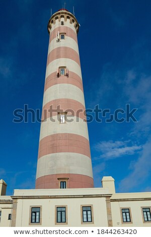 Lighthouse of Aveiro in Praia da Barra Stock photo © gvictoria