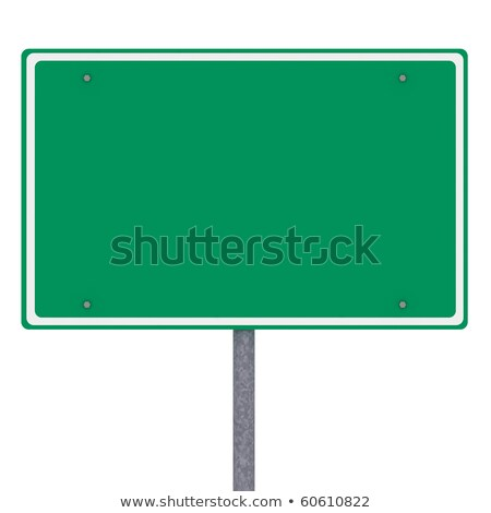 Blank American city limits sign Stock photo © creisinger