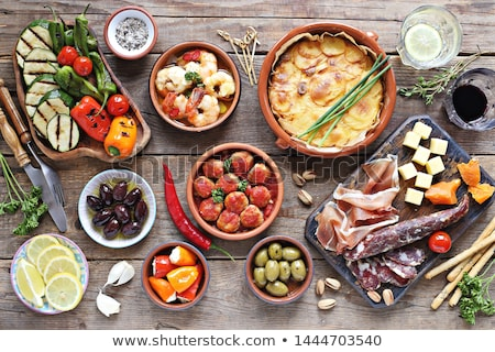 Stock photo: Tapas Platter