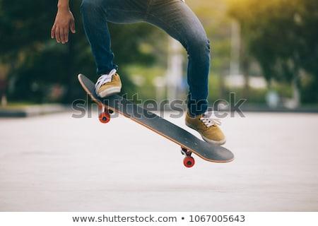 Skateboarder Ollie Stock photo © ArenaCreative