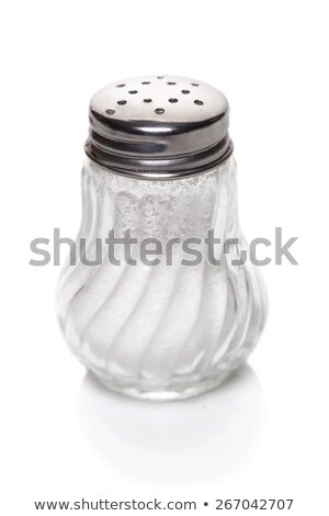 Glass salt-shaker Stock photo © Givaga