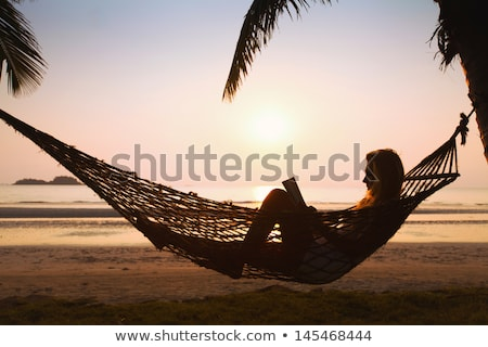 lazing at the beach stock photo © get4net