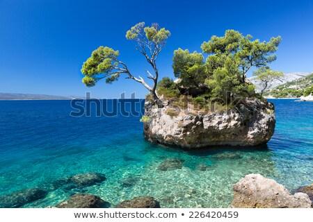 Foto d'archivio: Spiaggia · Croazia · strada · mare · sfondo
