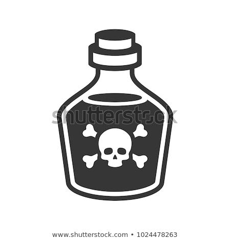 ręce · czaszki · odizolowany · biały - zdjęcia stock © stocksnapper