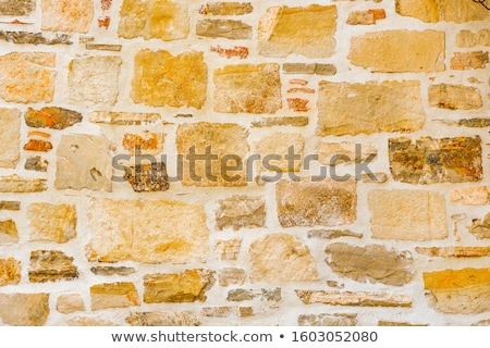 Old stonewall Stock photo © belahoche
