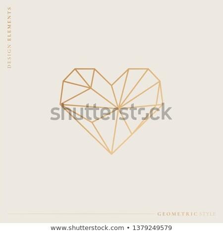 prezioso · diamante · amore · carta · carta · wedding - foto d'archivio © carodi