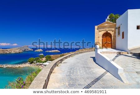 vecchio · tradizionale · casa · frazione · Grecia - foto d'archivio © goce