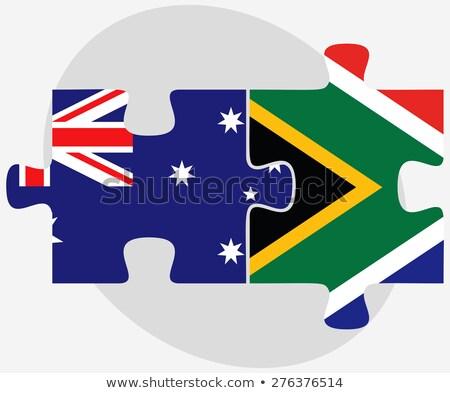 オーストラリア人 · フラグ · 実例 · 芸術 · 星 - ストックフォト © istanbul2009