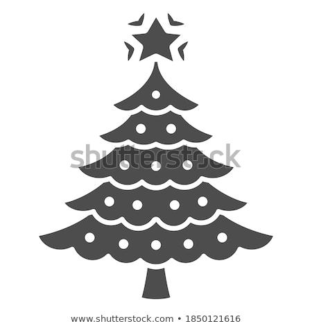 Simple joyeux Noël mobiles icône design Photo stock © michalsochor