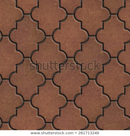 Brown Pavement as Leaf Clover. Stock photo © tashatuvango