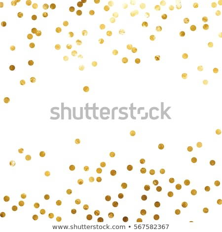 Gold Glitter Confetti Party Background Stock photo © Stephanie_Zieber