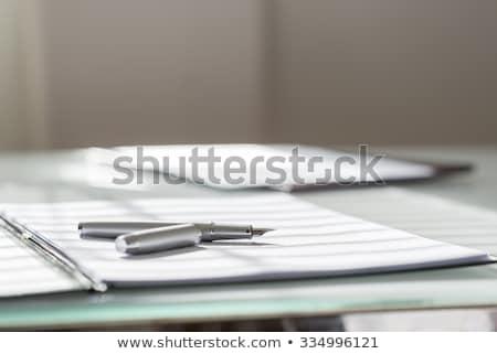 Testament write on folder Stock photo © fuzzbones0