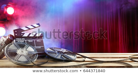 movie film  Background Stock photo © oblachko