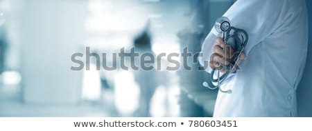 Prevenção médico impresso diagnóstico turva texto Foto stock © tashatuvango
