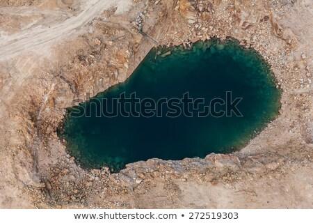 Sóder légifelvétel tipikus tájkép észak keleti Stock fotó © PixelsAway