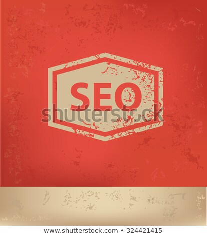 sem word on poster in grunge design stock photo © tashatuvango