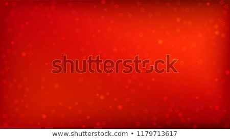 Red Christmas background with white frost  stock photo © Valeriy