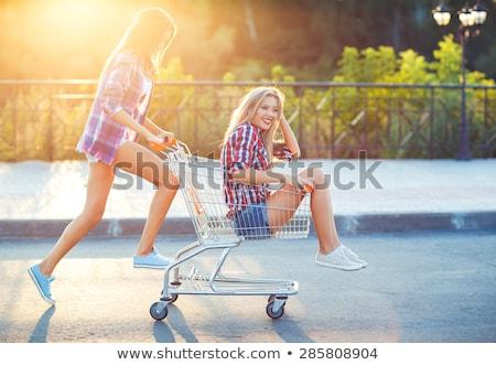 meninas · dois · belo · jovem - foto stock © vlad_star