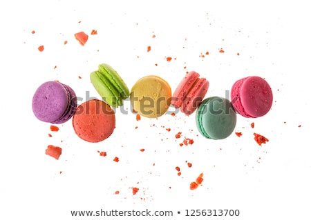 french colorful macarons Stock photo © mady70