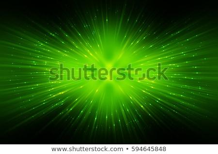 verde · fractal · imagem · cores · abstrato - foto stock © mikko