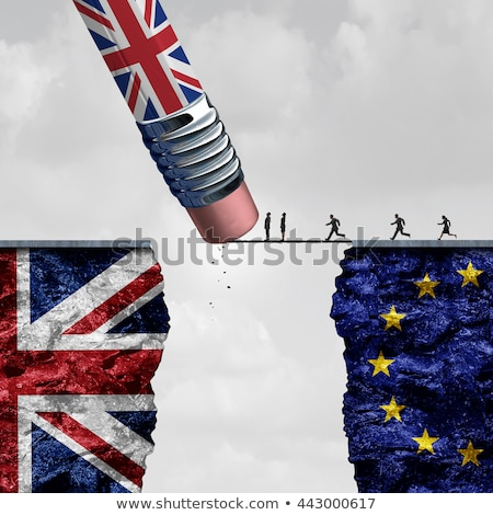 Сток-фото: Britain European Union Change