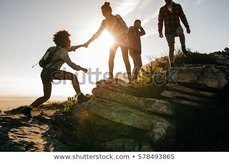 Group of rocks Stock photo © bluering