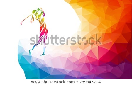 lady in golfs stock photo © ssuaphoto
