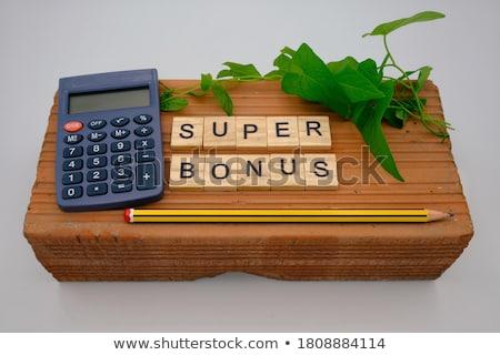 Bonus Calculator Stock photo © idesign