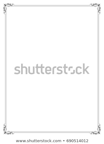Stock photo: Page Border