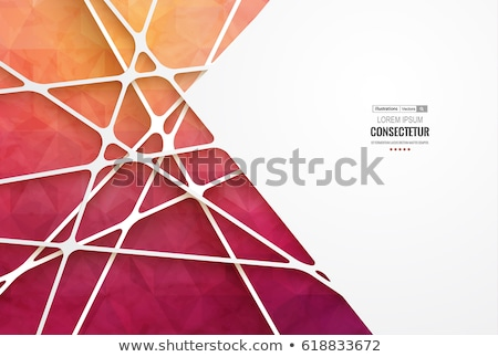 Abstract retro low poly background  Stock photo © fresh_5265954