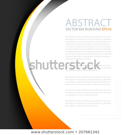 moderne · business · brochure · ontwerpsjabloon · Geel · zwarte - stockfoto © SArts
