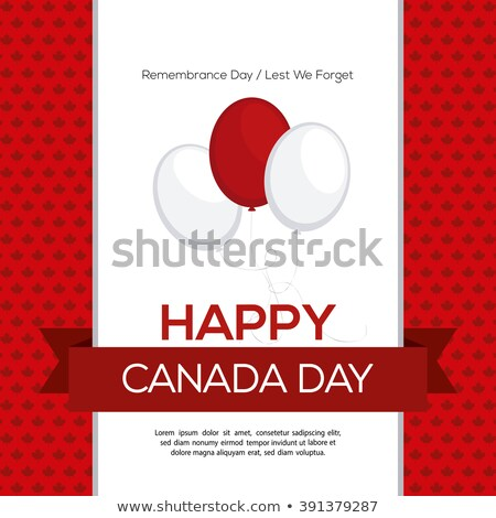 Canadá · forma · balão · cidade - foto stock © olena