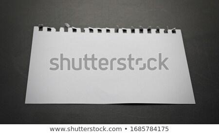 Papel quadro-negro topo ver negócio educação Foto stock © Sonya_illustrations