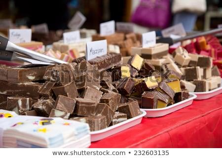 assorted festive chocolates Stock photo © M-studio