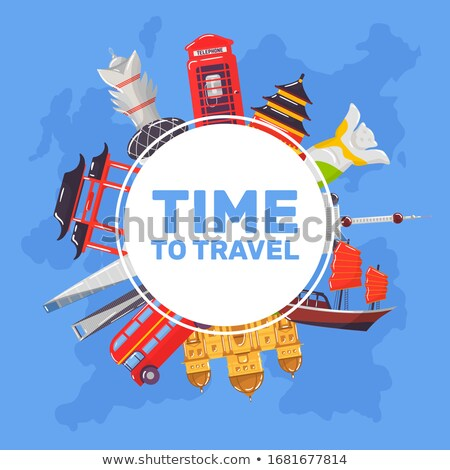 Engeland tijd reizen reis reis vakantie Stockfoto © Leo_Edition