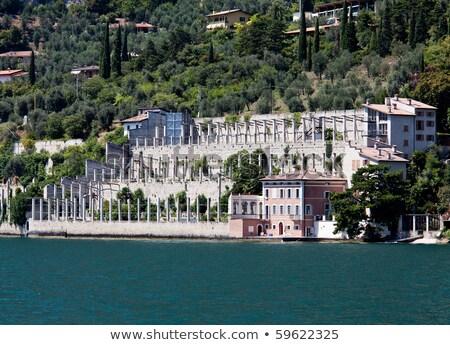 Limão lago costa região Itália paisagem Foto stock © xbrchx