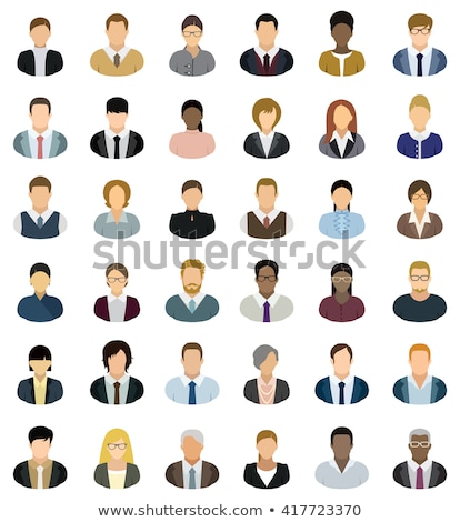 colorful vector avatar icons stock photo © blumer1979