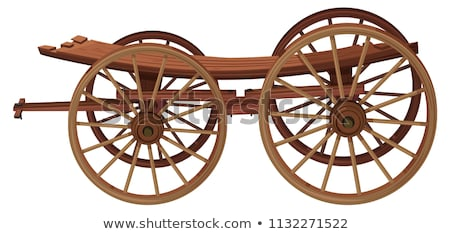 carriage for transportation of people vector illustration stock photo © konturvid
