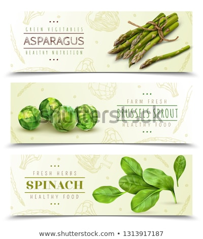 vector asparagus sprouts Stock photo © freesoulproduction