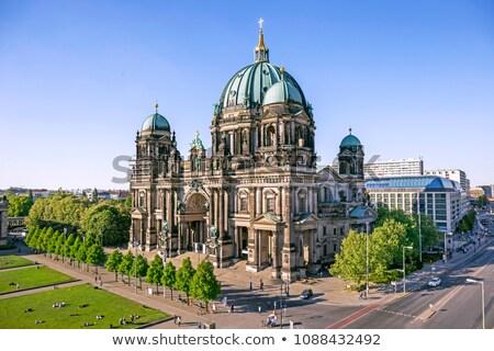 Берлин собора Германия закат воды здании Сток-фото © lunamarina