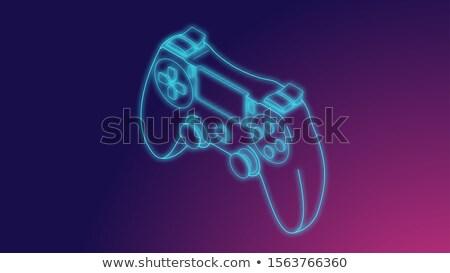 Hand Gadgets Elements Illustration Stock photo © lenm