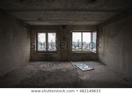 Ceiling of ruined building Stock photo © simply