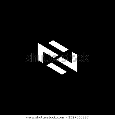 letter n and z logo nz logotype vector icon Stock photo © blaskorizov
