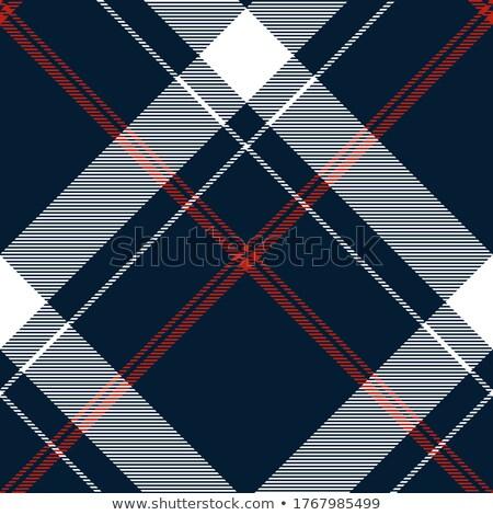 Diagonal checks seamless vector pattern. Stock photo © yopixart